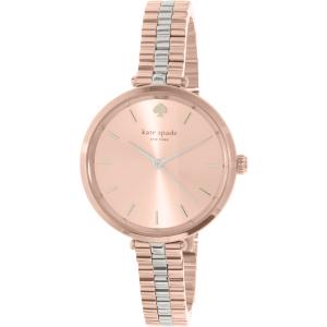 Kate Spade Women's Holland 1YRU0860 Rose Gold Stainless-Steel Quartz Watch