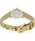 Kate Spade Women's Eldridge KSW1011 Gold Leather Quartz Watch - Back Image Swatch