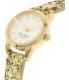 Kate Spade Women's Eldridge KSW1011 Gold Leather Quartz Watch - Side Image Swatch