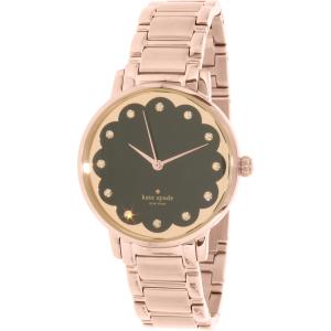 Kate Spade Women's Metro KSW1044 Rose-Gold Stainless-Steel Quartz Watch