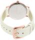 Kate Spade Women's Metro KSW1089 White Leather Quartz Watch - Back Image Swatch