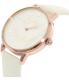 Kate Spade Women's Metro KSW1089 White Leather Quartz Watch - Side Image Swatch