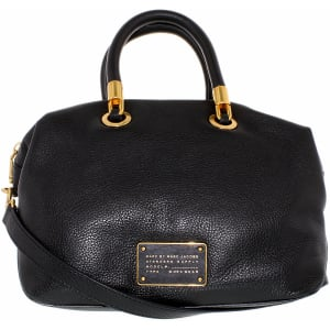 Marc by Marc Jacobs Women's New Too Hot To Handle Satchel Leather Top-Handle Tote