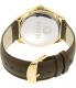 Versus by Versace Women's Elmont SBE020015 Brown Leather Quartz Watch - Back Image Swatch