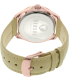 Versus by Versace Women's Elmont SBE030015 Beige Leather Quartz Watch - Back Image Swatch