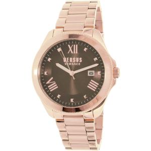 Versus by Versace Men's Elmont SBE070015 Rose-Gold Stainless-Steel Quartz Watch