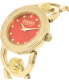 Versus by Versace Women's Carnaby Street SCG120016 Gold Stainless-Steel Quartz Watch - Side Image Swatch