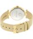 Versus by Versace Women's V-Versus SCI130016 Beige Leather Quartz Watch - Back Image Swatch