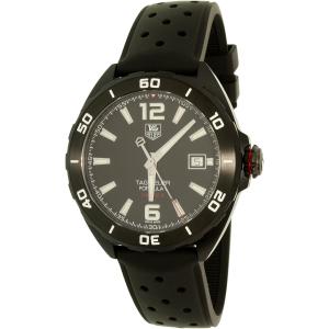 Tag Heuer Men's Formula 1 WAZ2115.FT8023 Black Silicone Swiss Quartz Watch