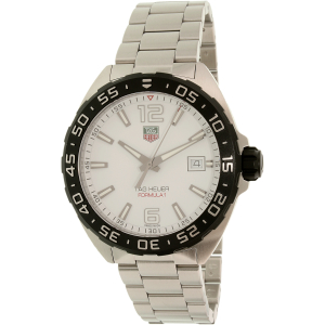 Tag Heuer Men's Formula 1 WAZ1111.BA0875 Silver Stainless-Steel Swiss Quartz Watch