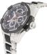 Seiko Men's Velatura SRX009 Black Stainless-Steel Seiko Kinetic Watch - Side Image Swatch