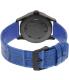 Nixon Men's Sentry A3772131 Black Alligator Leather Quartz Watch - Back Image Swatch