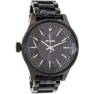 Nixon Women's Facet A3842185 Black Stainless-Steel Quartz Watch