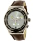 Swatch Men's Irony YVS429 Brown Leather Swiss Quartz Watch - Main Image Swatch