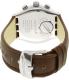 Swatch Men's Irony YVS429 Brown Leather Swiss Quartz Watch - Back Image Swatch