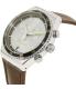 Swatch Men's Irony YVS429 Brown Leather Swiss Quartz Watch - Side Image Swatch