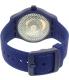 Swatch Men's Originals SUTN401 Blue Silicone Automatic Watch - Back Image Swatch
