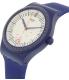 Swatch Men's Originals SUTN401 Blue Silicone Automatic Watch - Side Image Swatch