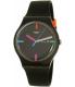 Swatch Women's Originals SUOB719 Black Silicone Swiss Quartz Watch - Main Image Swatch