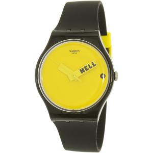 Swatch Men's Originals SUOB120 Black Silicone Swiss Quartz Watch