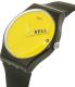 Swatch Men's Originals SUOB120 Black Silicone Swiss Quartz Watch - Side Image Swatch