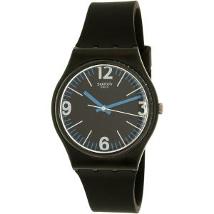 Swatch Women's Originals GB292 Black Silicone Swiss Quartz Watch