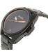 Nixon Men's Anthem A396957 Black Stainless-Steel Swiss Quartz Watch - Side Image Swatch