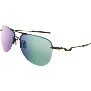 Oakley Men's Mirrored Tailpin OO4086-02 Black Aviator Sunglasses