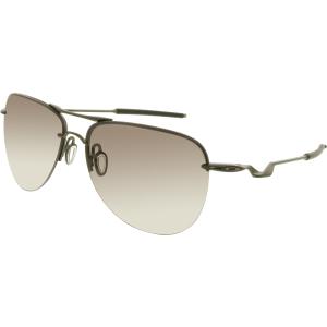 Oakley Men's Polarized Tailpin OO4086-04 Black Aviator Sunglasses
