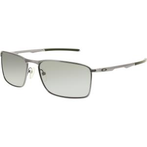 Oakley Men's Polarized Conductor OO4106-02 Grey Rectangle Sunglasses