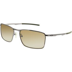 Oakley Men's Polarized Conductor OO4106-04 Gunmetal Rectangle Sunglasses