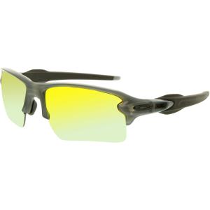 Oakley Men's Polarized Flak 2.0 OO9188-10 Blue Rectangle Sunglasses