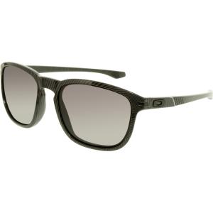Oakley Men's Fingerprint OO9223-26 Black Square Sunglasses