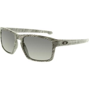Oakley Men's Fingerprint OO9262-15 Black/White Rectangle Sunglasses