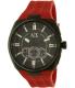Armani Exchange Men's AX1803 Black Silicone Quartz Watch - Main Image Swatch
