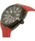 Armani Exchange Men's AX1803 Black Silicone Quartz Watch - Side Image Swatch