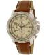 Fossil Men's Dean FS5130 Silver Leather Quartz Watch - Main Image Swatch