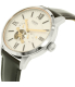 Fossil Men's Townsman ME3104 Silver Leather Automatic Watch - Side Image Swatch