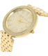 Michael Kors Women's Darci MK3438 Gold Stainless-Steel Quartz Watch - Side Image Swatch