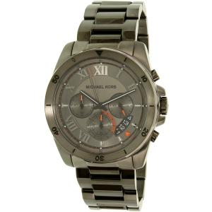 Michael Kors Men's Brecken MK8465 Gunmetal Stainless-Steel Quartz Watch