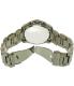Michael Kors Men's Brecken MK8465 Gunmetal Stainless-Steel Quartz Watch - Back Image Swatch