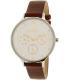 Skagen Women's Anita SKW2394 Silver Leather Quartz Watch - Main Image Swatch