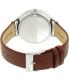 Skagen Women's Anita SKW2394 Silver Leather Quartz Watch - Back Image Swatch
