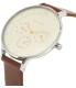 Skagen Women's Anita SKW2394 Silver Leather Quartz Watch - Side Image Swatch