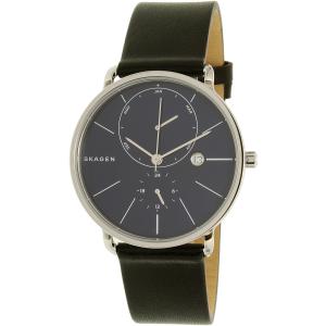 Skagen Men's Hagen SKW6241 Silver Leather Quartz Watch