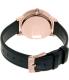 Nixon Women's Kensington A1082160 Rose Gold Leather Quartz Watch - Back Image Swatch
