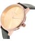 Nixon Women's Kensington A1082160 Rose Gold Leather Quartz Watch - Side Image Swatch