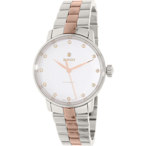 Rado Women's Coupole Classic R22862742 Silver Stainless-Steel Swiss Automatic Watch