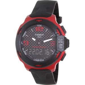 Tissot Men's T-Race T081.420.97.207.00 Red Silicone Swiss Quartz Watch