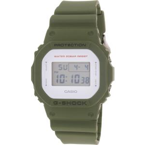 Casio Men's G-Shock DW5600M-3 Olive Rubber Quartz Watch